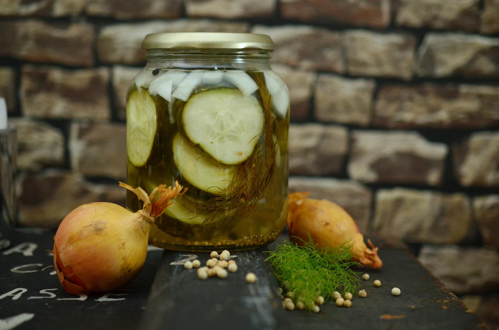 Quick Fridge Pickles