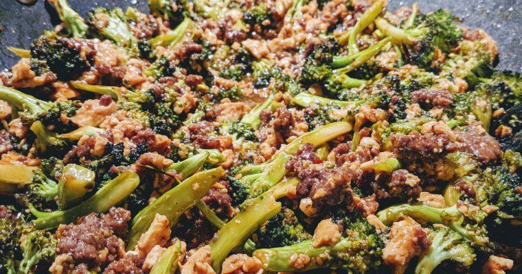 Beef, Tofu, and Broccoli