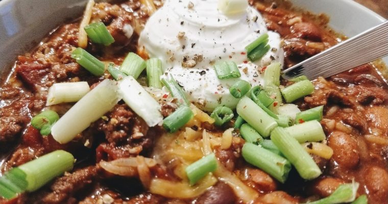Simple Ground Beef Chili