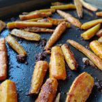 No Bullshit Kitchen Roasted Carrots