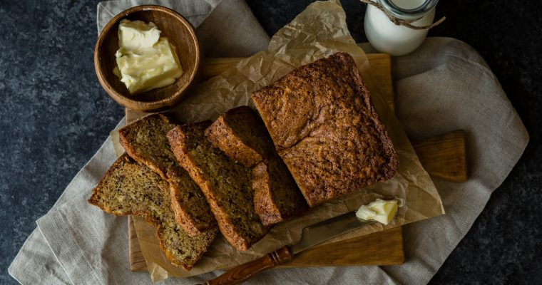 Sourdough Starter Banana Bread