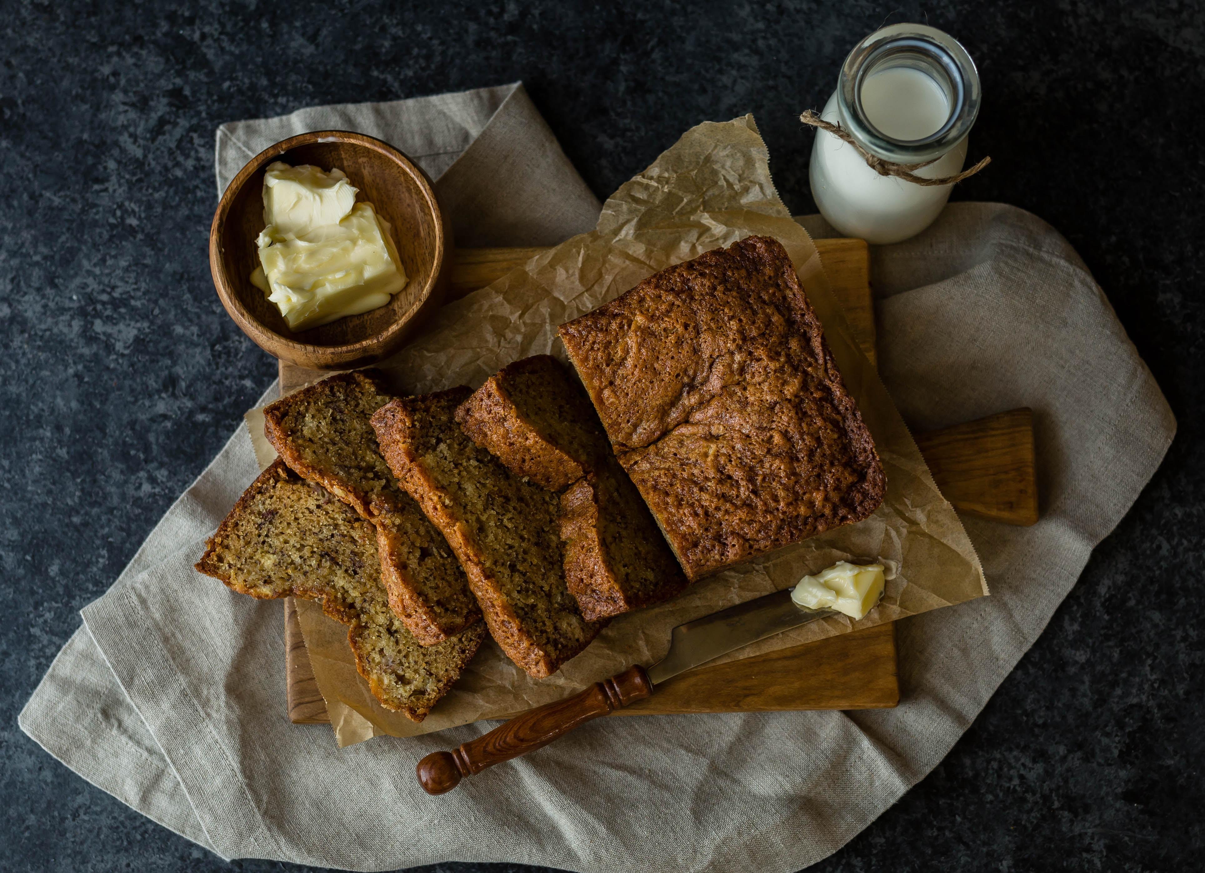 Sourdough Starter Banana Bread