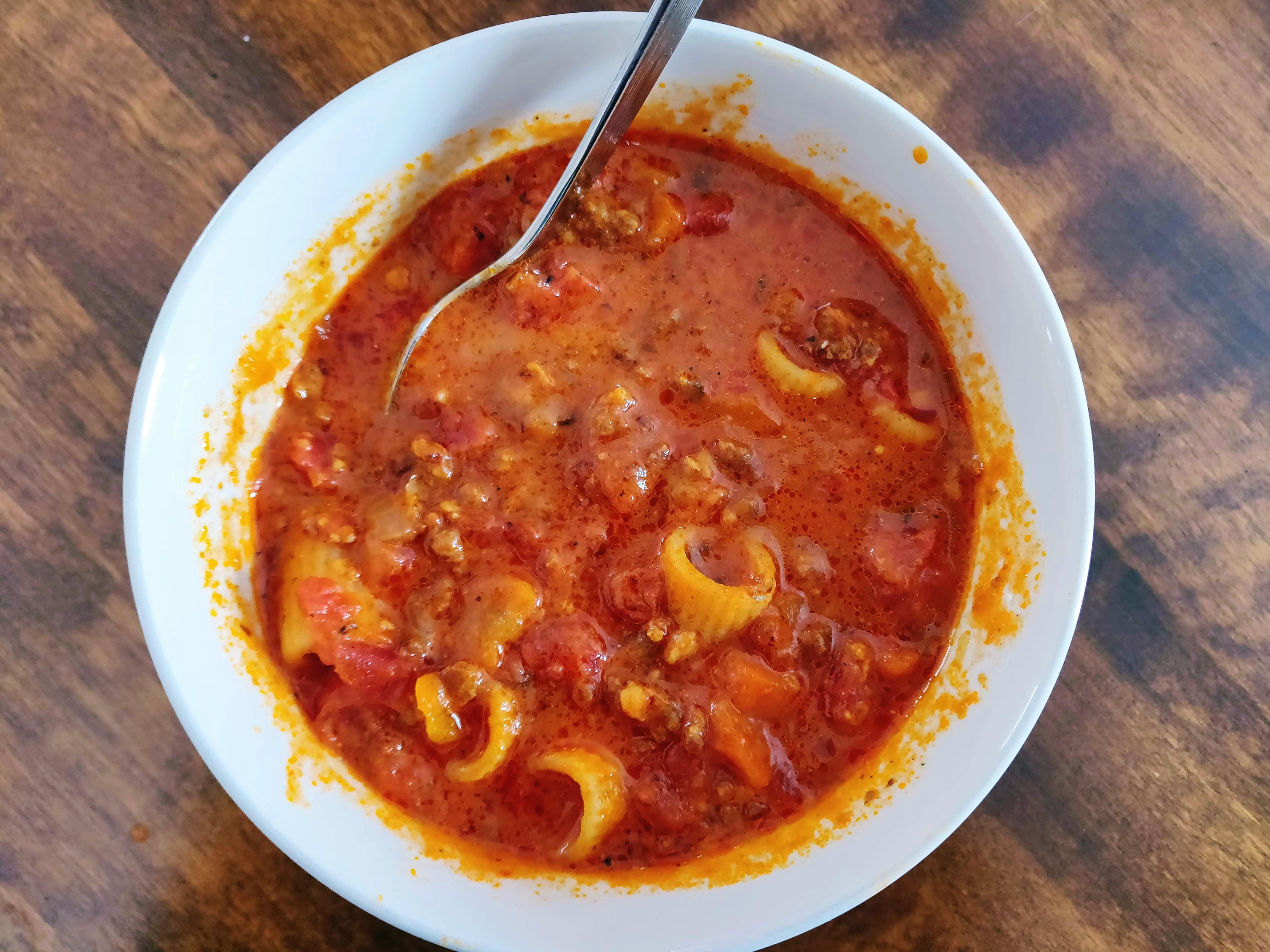 Instant Pot Sausage Tomato Soup