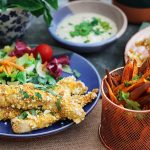 Panko Mustard Chicken